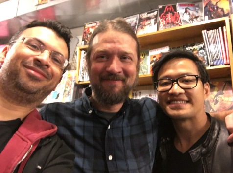 The day before the con, Fred and I went to tour the comic book stores of NY. Super warm welcome at JHU on 32nd St. I recommend this store