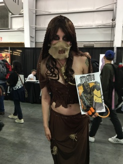This monster lady with an awesome costume likes INTERTWINED