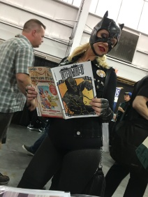 Catwoman has a thing for Kung Fu (#Intertwinedeffect)