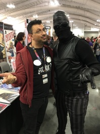 Spider-Man Noir came to visit me at the booth
