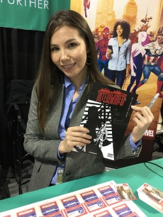 Marjorie Liu also seemed interested in Intertwined#1. She's the best!