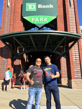 Will and I in front of the TD Park