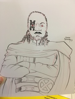 A fan asked to turn his brother Benjy into Bishop, his favorite character.